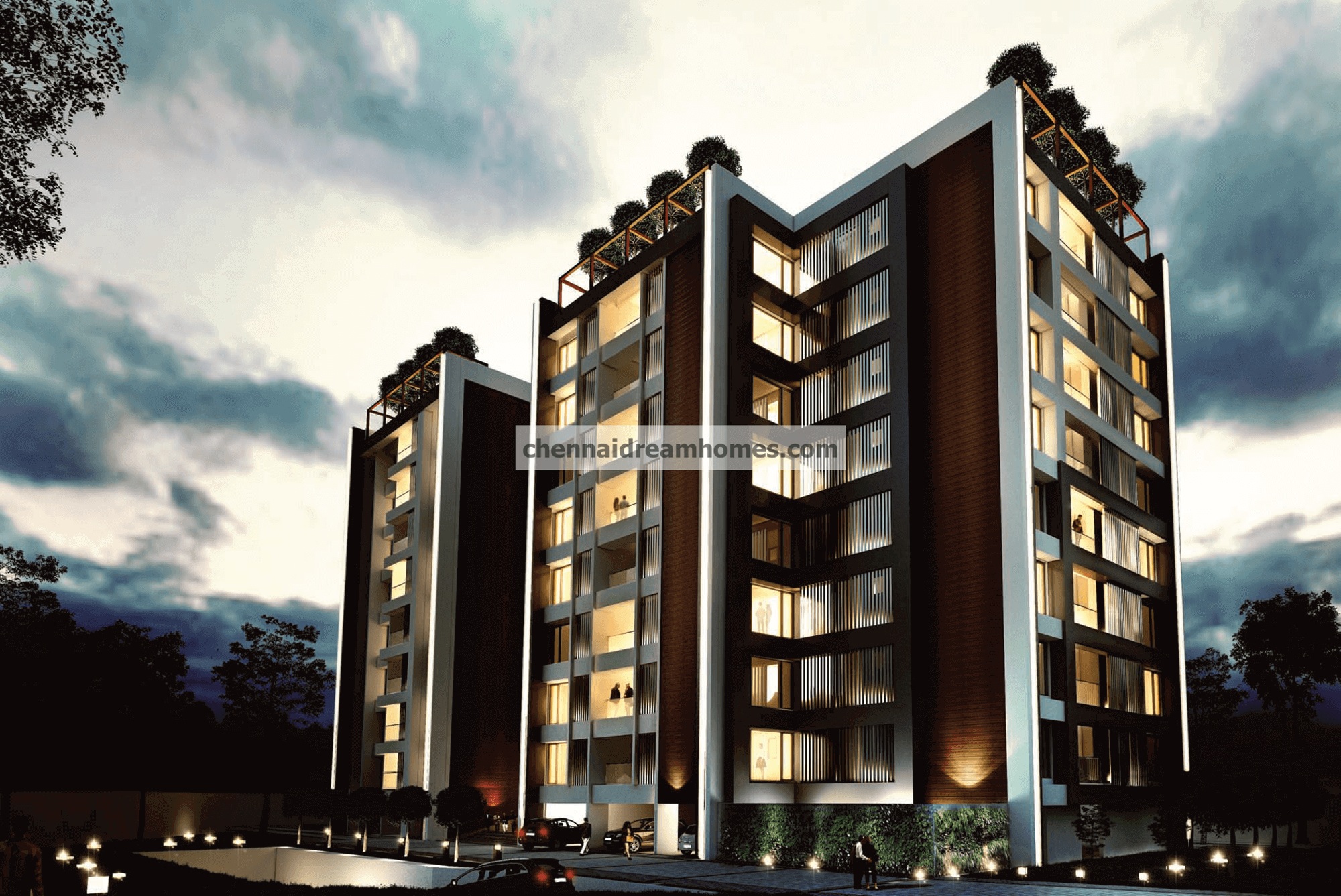 3 BHK Spacious, Luxurious Apartments for sale in the heart of Nungambakkam