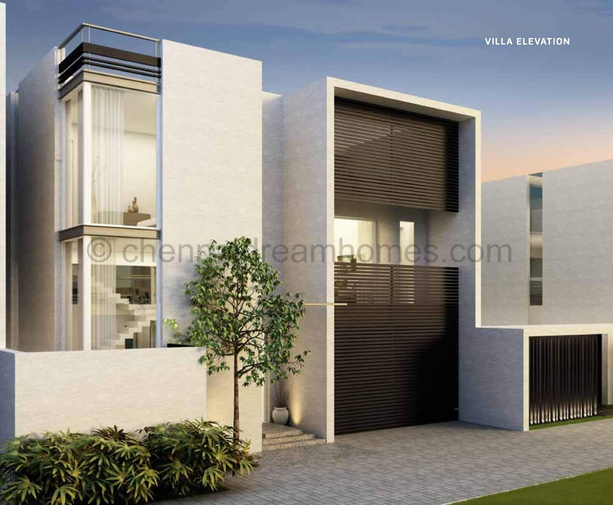 CMDA Approved 4 BHK Luxurious Villas for sale in ECR, with Pool