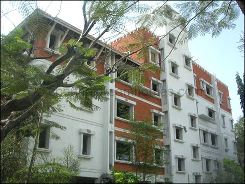 Flat for Sale in Besant Nagar 3 BHK Furnished AC Luxury  : elevation from chennaidreamhomes.com size 850 x 638 jpeg 96kB