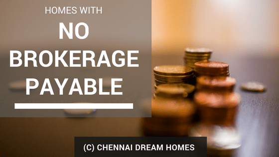 no brokerage properties chennai