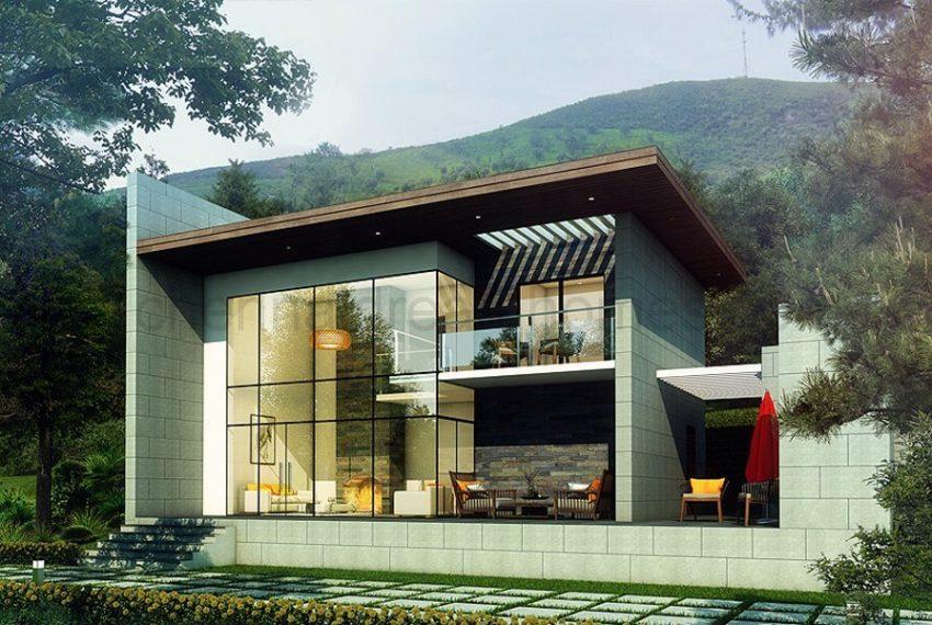 3 BHK Villa Elevation