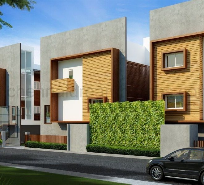gated villas in ecr
