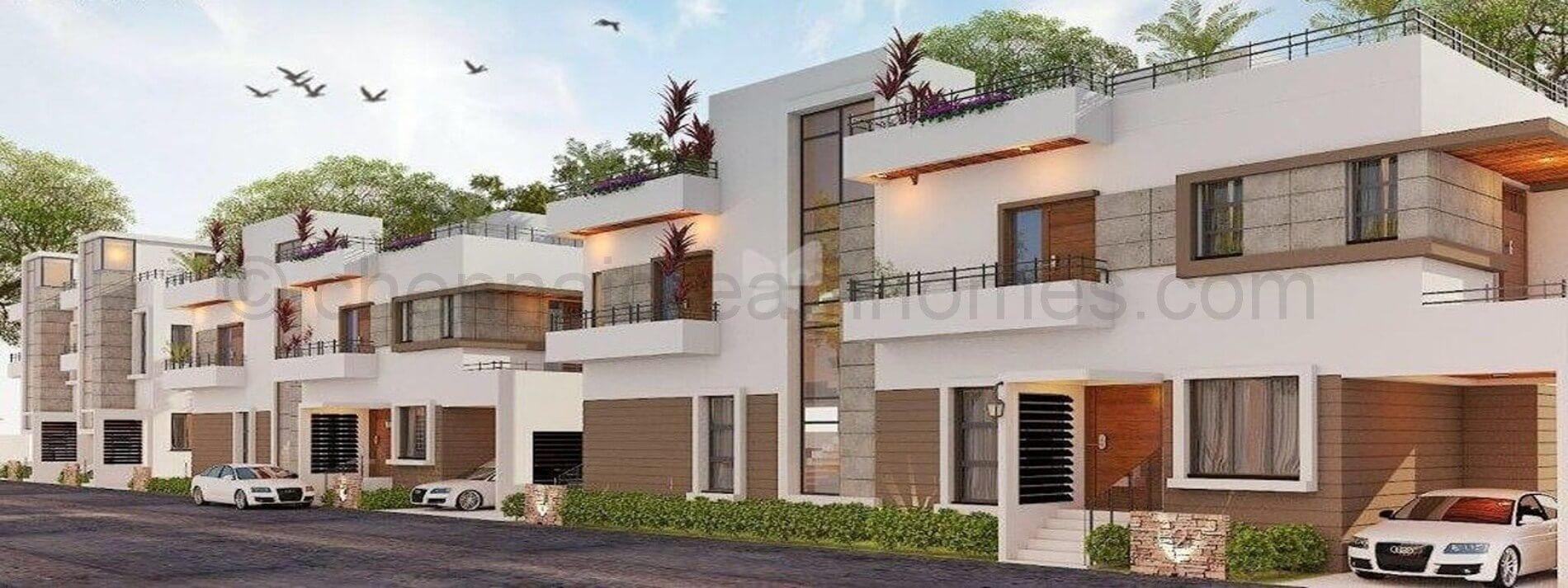 3 BHK Duplex Villas for sale in OMR